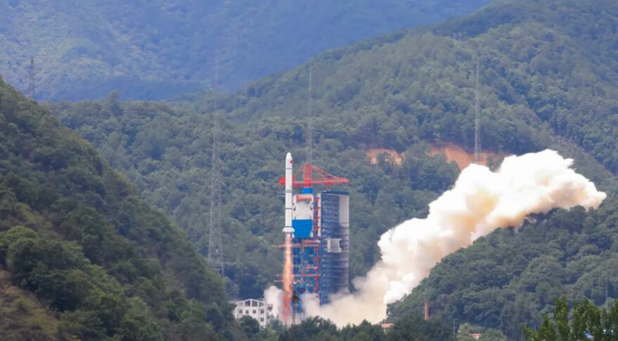 Launch of the Long March 2C carrying the Yaogan-30 (09) and Tianqi-14 satellites at 06:30 UTC June 18, 2021.