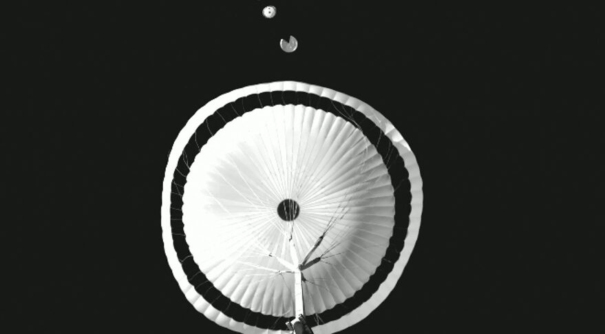 ExoMars parachute