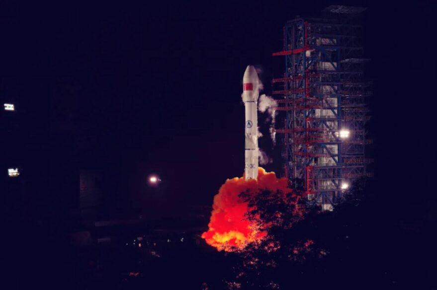 A Long March 3C launches the Tianlian-1 (05) satellite into GTO, July 6, 2021.