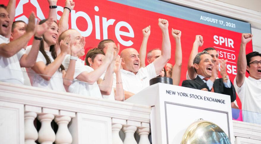 Spire Global rings NYSE bell