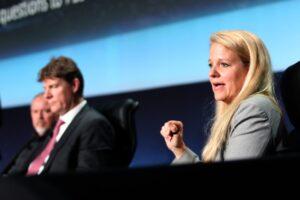 Gwynne Shotwell, president and COO of SpaceX