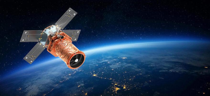 Artist's image of SpaceEye-T satellite