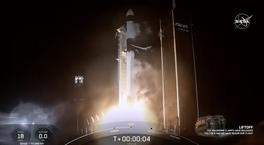 CRS-23 launch