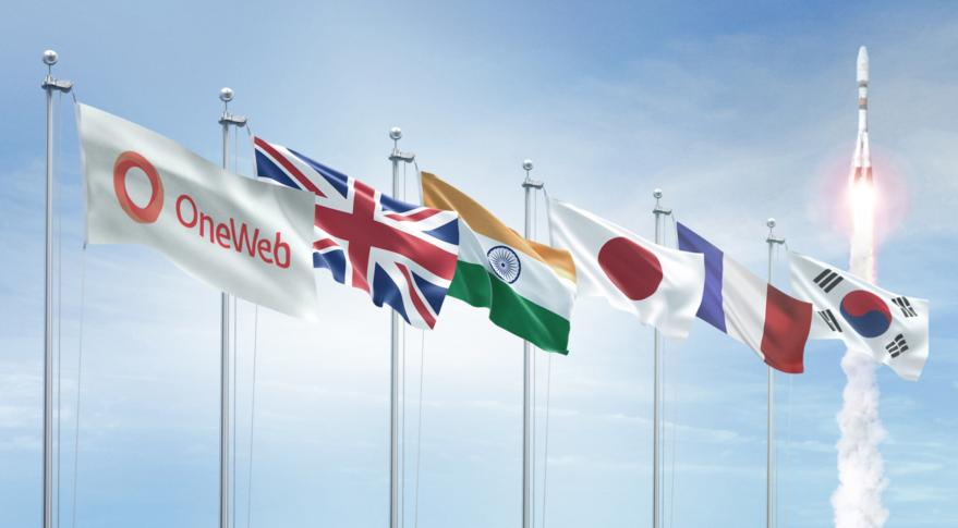 OneWeb flags
