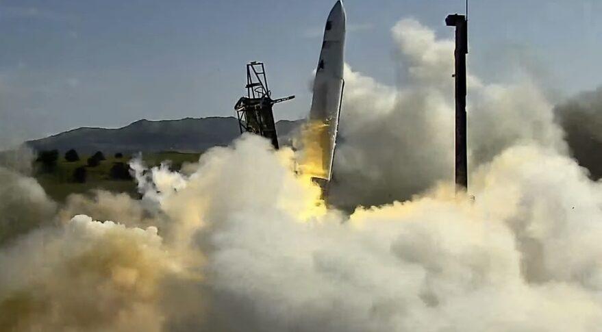 Astra Rocket 3.3 liftoff