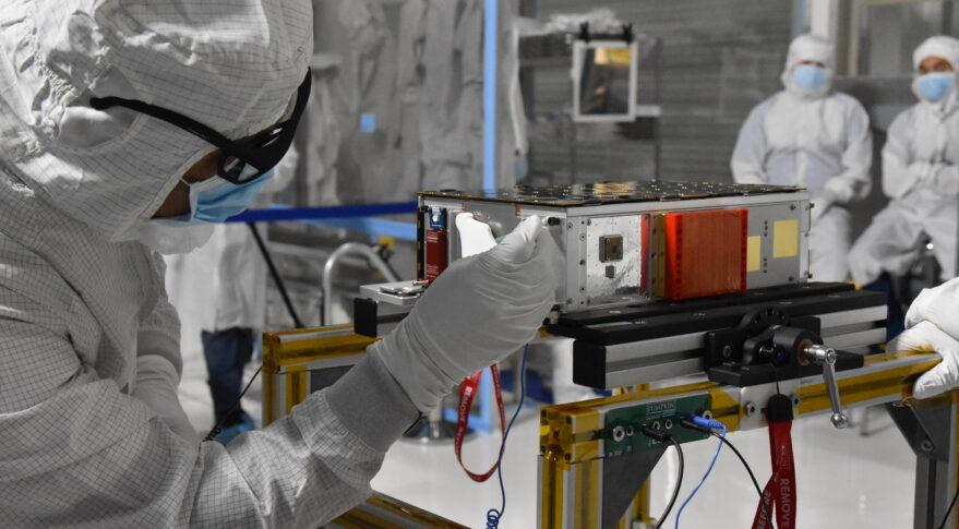 A CesiumAstro satellite