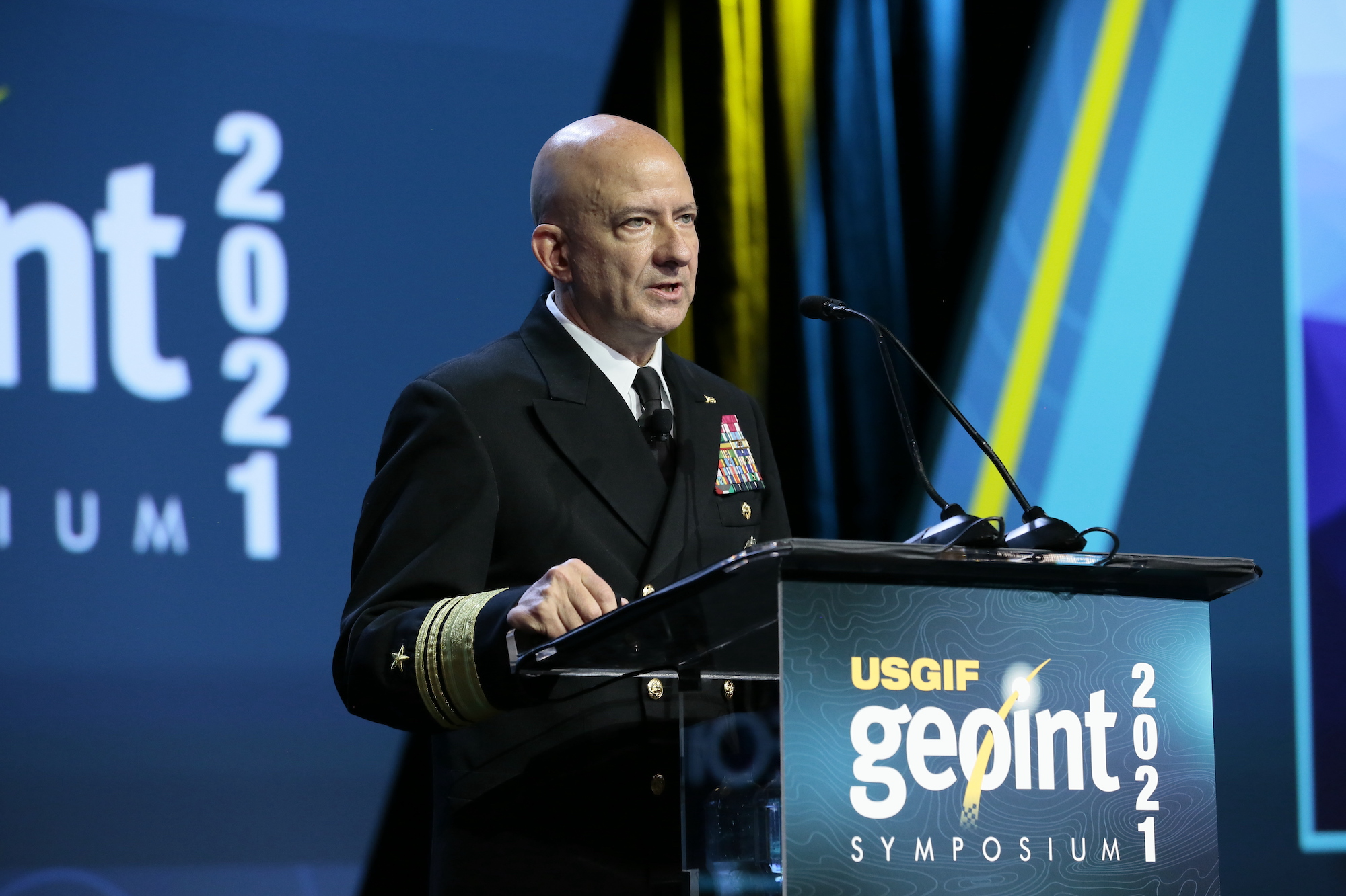 NGA chief hails company's growth out west, outreach to startups and universities thumbnail