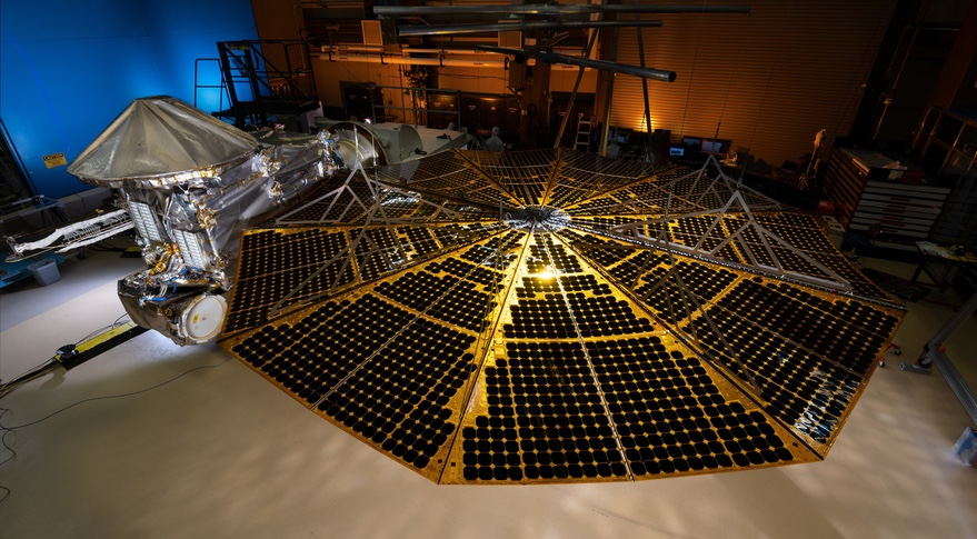 NASA investigating issue with Lucy solar array